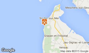 Mapa Soulac Apartamento 95152