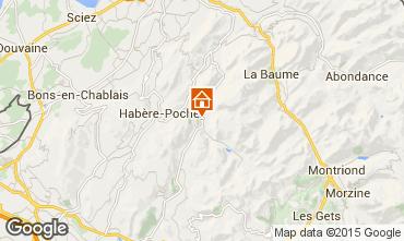 Mapa Bellevaux Hirmentaz La Chèvrerie Apartamento 71879