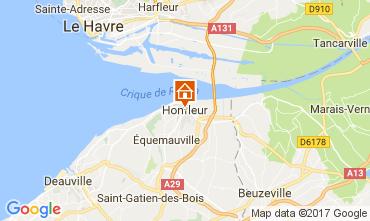 Mapa Honfleur Apartamento 78544