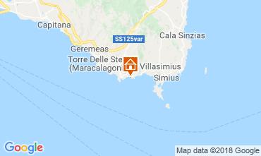 Mapa Villasimius Apartamento 51993