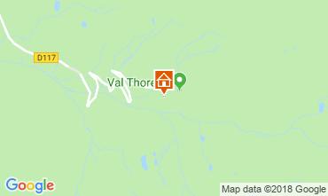 Mapa Val Thorens Apartamento 116916