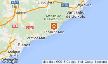 Mapa Tossa de Mar Apartamento 98212