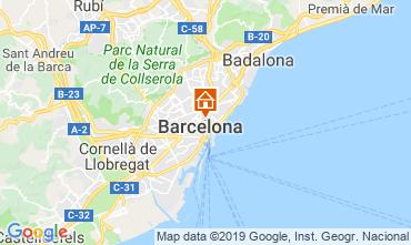 Mapa Barcelona Apartamento 118351
