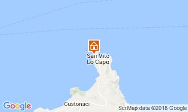 Mapa San Vito lo Capo Villa 113893