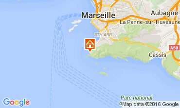 Mapa Marsella Apartamento 104224