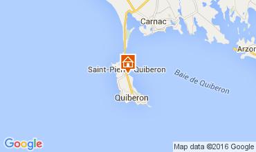 Mapa Saint Pierre Quiberon Casa 106018