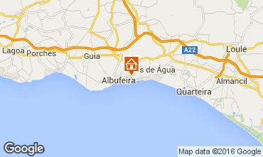 Mapa Albufeira Apartamento 102566