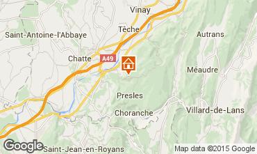 Mapa Villard de Lans - Corrençon en Vercors Chalet 52709