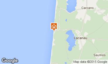Mapa Lacanau Apartamento 74349