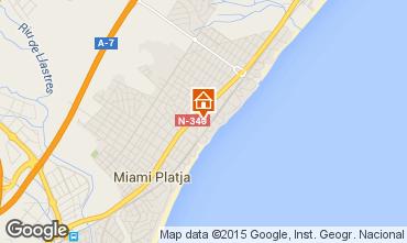Mapa Miami Playa Apartamento 81831
