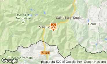 Mapa Saint Lary Soulan Apartamento 93907