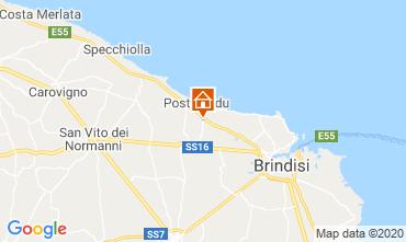 Mapa Brindisi Alojamiento insólito 117050
