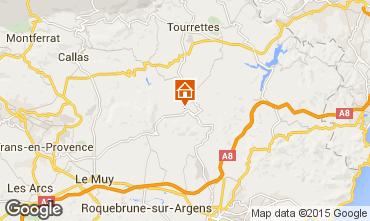 Mapa Fréjus Apartamento 74884