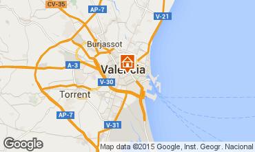 Mapa Valencia Apartamento 72518