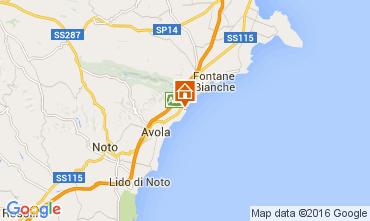 Mapa Avola Villa 93429
