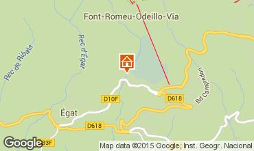 Mapa Font Romeu Apartamento 70530