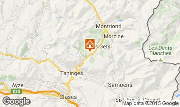 Mapa Les Gets Chalet 49656