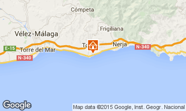 Mapa Málaga Apartamento 9619