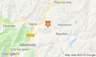 Mapa Les Saisies Apartamento 116762