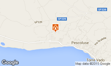 Mapa Pescoluse Villa 72212