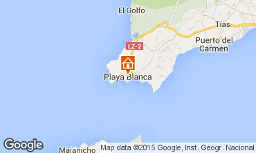Mapa Playa Blanca Villa 55790