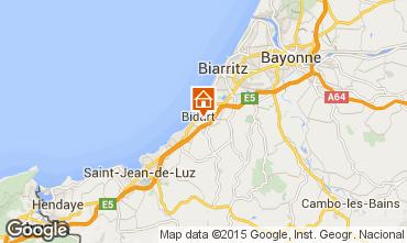 Mapa Biarritz Mobil home 41831