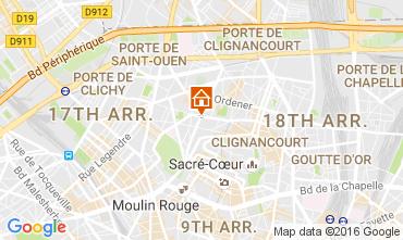 Mapa PARÍS Apartamento 106759