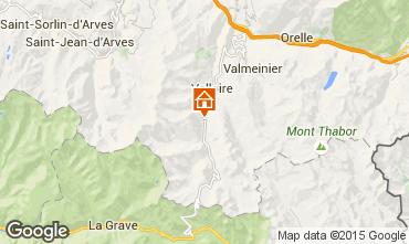 Mapa Valloire Apartamento 50293