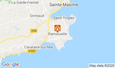 Mapa Saint Tropez Mobil home 108259