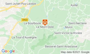 Mapa Le Mont Dore Apartamento 3906