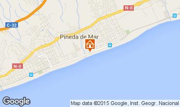 Mapa Pineda de Mar Apartamento 97989