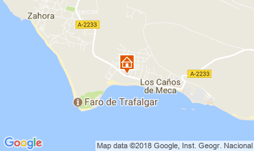 Mapa Conil de la Frontera Apartamento 113929