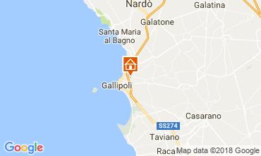 Mapa Gallipoli Apartamento 95183