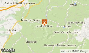 Mapa Le Mont Dore Estudio 58989