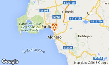 Mapa Alghero Apartamento 79617