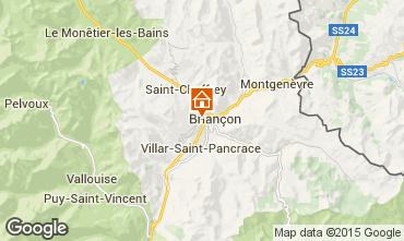 Mapa Serre Chevalier Casa rural 2874