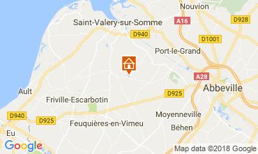 Mapa Saint Valéry sur Somme Castillo 92371