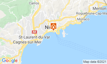 Mapa Niza Apartamento 8341