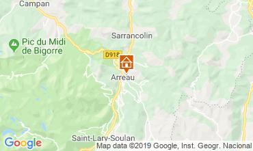 Mapa Saint Lary Soulan Casa 95270