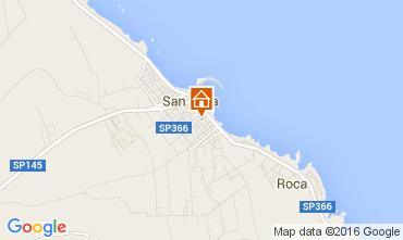 Mapa San Foca Apartamento 94580