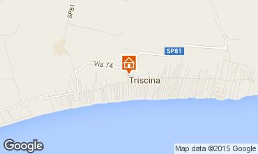 Mapa Triscina Villa 99407