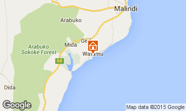 Mapa Malindi Villa 33970