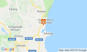 Mapa Lotzorai Villa 37184