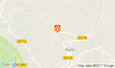 Mapa Le Bourg-d'Oisans Apartamento 112032