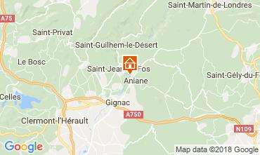 Mapa Aniane Villa 115280