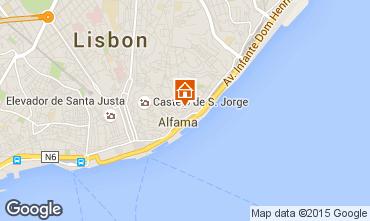 Mapa Lisboa Apartamento 26404