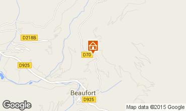 Mapa Areches Beaufort Apartamento 360