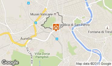 Mapa Roma Apartamento 43575