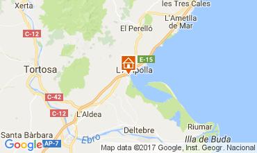 Mapa La Ampolla Villa 112078
