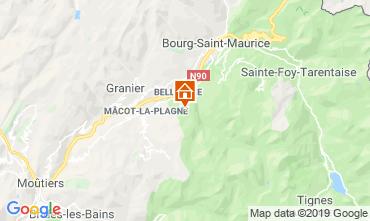 Mapa Montchavin les Coches Apartamento 108308